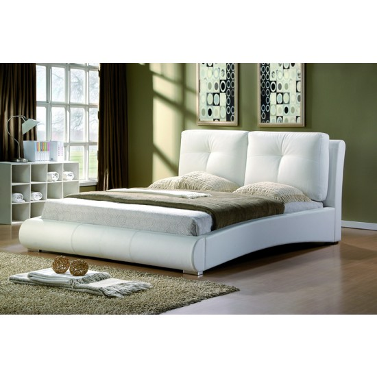 Merida Leather Bed