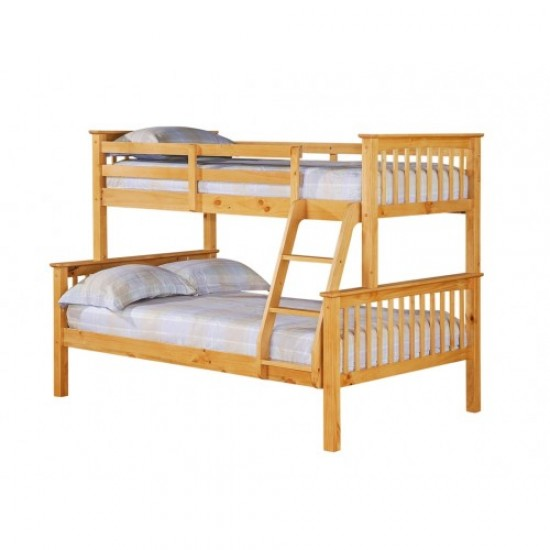 Otto Trio Antique Pine Bunk Bed